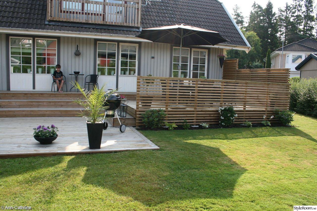 Bygga med liggande ribbor – Altanräcke, spaljé eller vindskydd ...