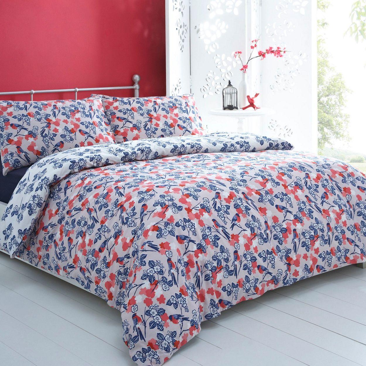 Debenhams Blue 'Birdie' bed linen- at Debenhams.com£7.68 ...