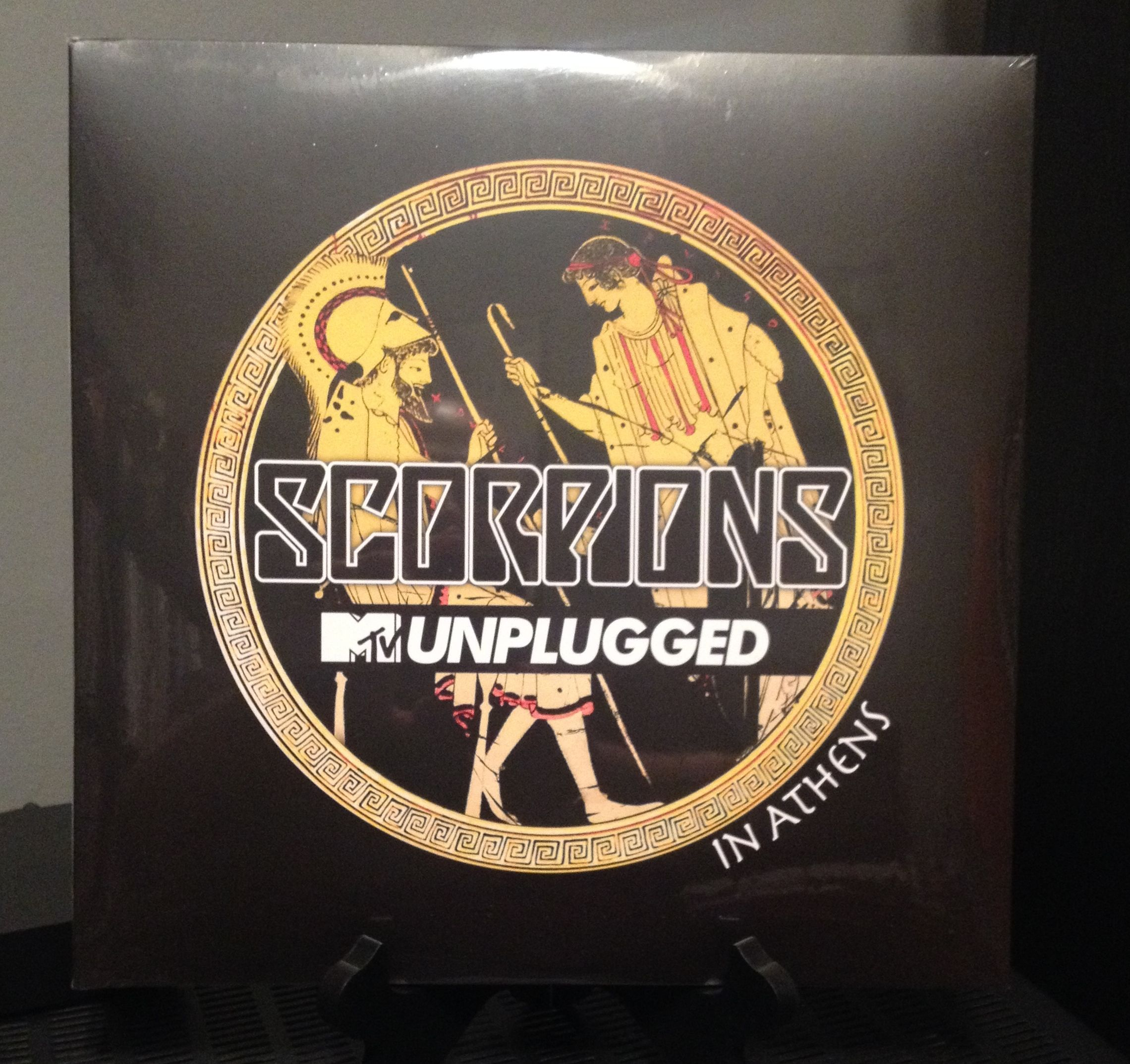 The Scorpions Mtv Unplugged In Athens Vinyl Mtv Unplugged Mtv Blu Ray
