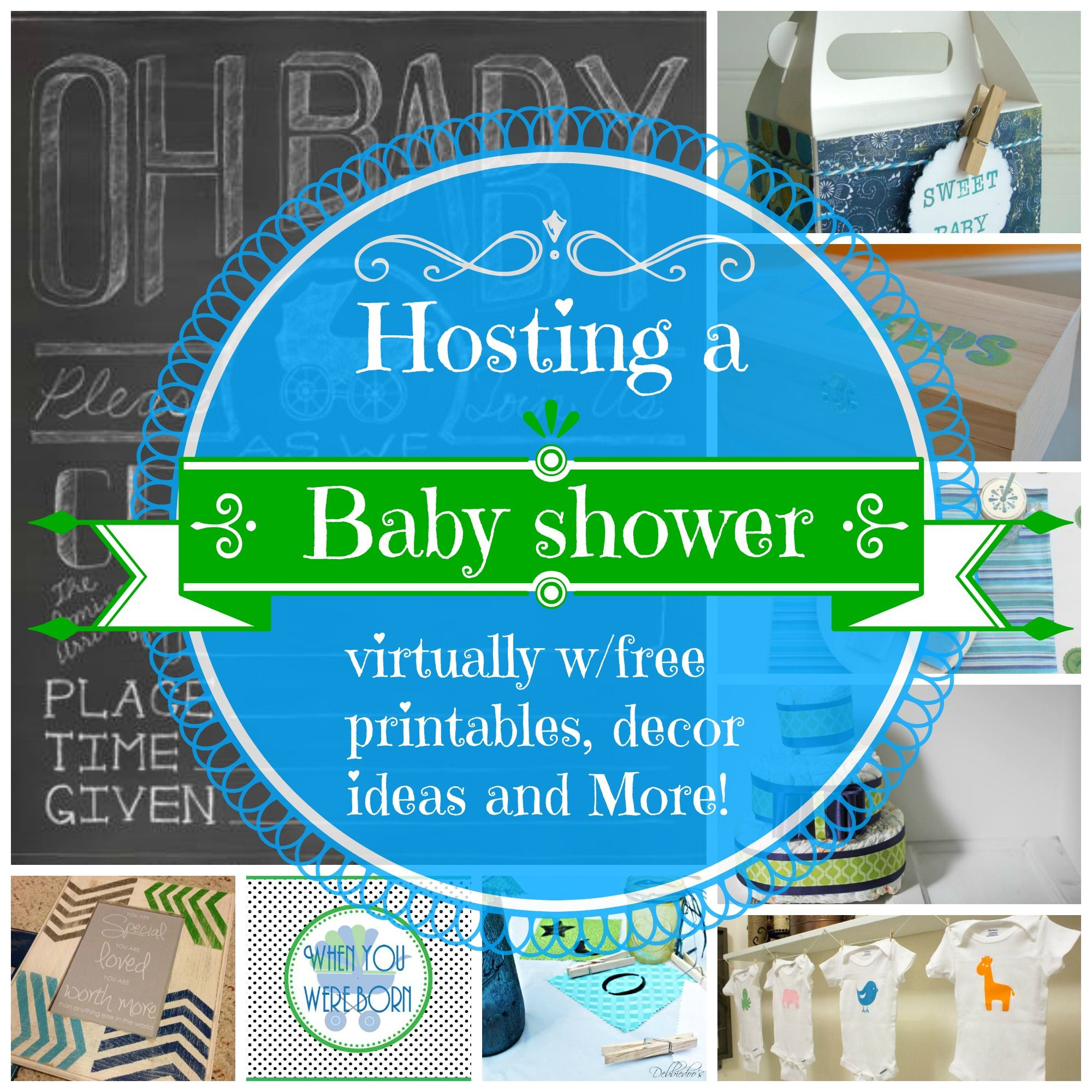 Virtual Baby Shower Ideas Games