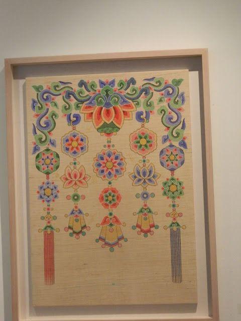 Patterns used in Buddhist symbols Min hwa