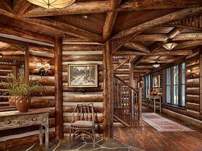Paradise Ranch Log Homes Log Home Interiors Log Home Decorating