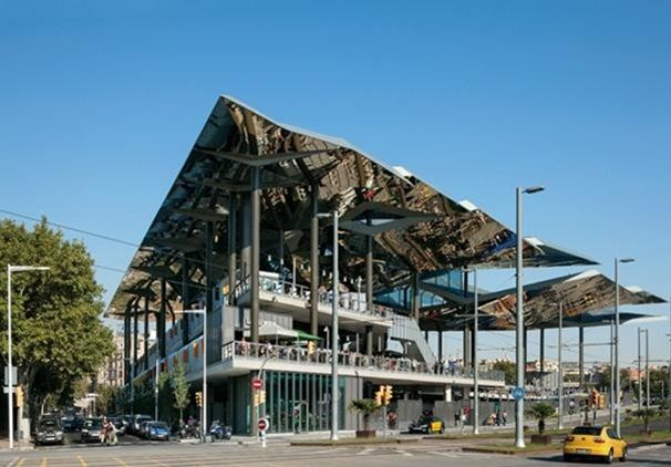 Glitter bug: Els Encants Market, Barcelona, Spain, by b720 Fermín Vázquez Arquitectos   Buildings   Architectural Review