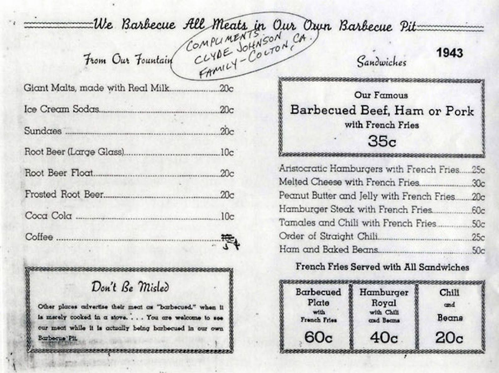Here S What The Original Mcdonald S Menu Looked Like And