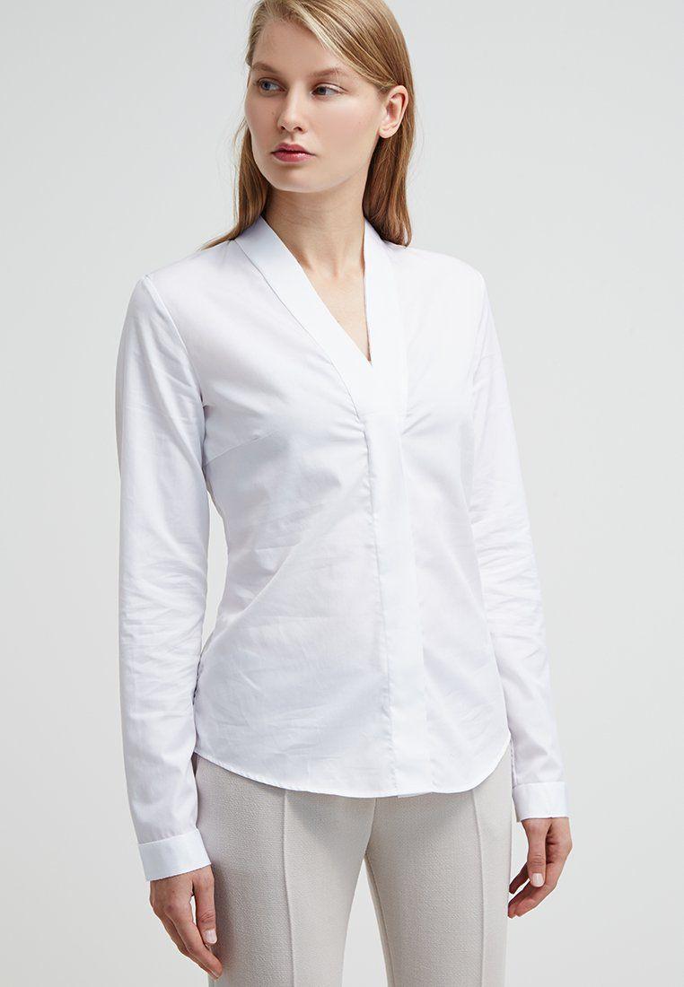 van laack alwy bluse weiss szukaj w google blouses shirts for ladies pinterest vans. Black Bedroom Furniture Sets. Home Design Ideas