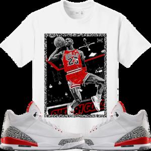 c1b4291e36e66f Original Rufnek T-Shirt Jordan 3 Katrina Hall of Fame Sneaker Tees Shirt -  SG MJ