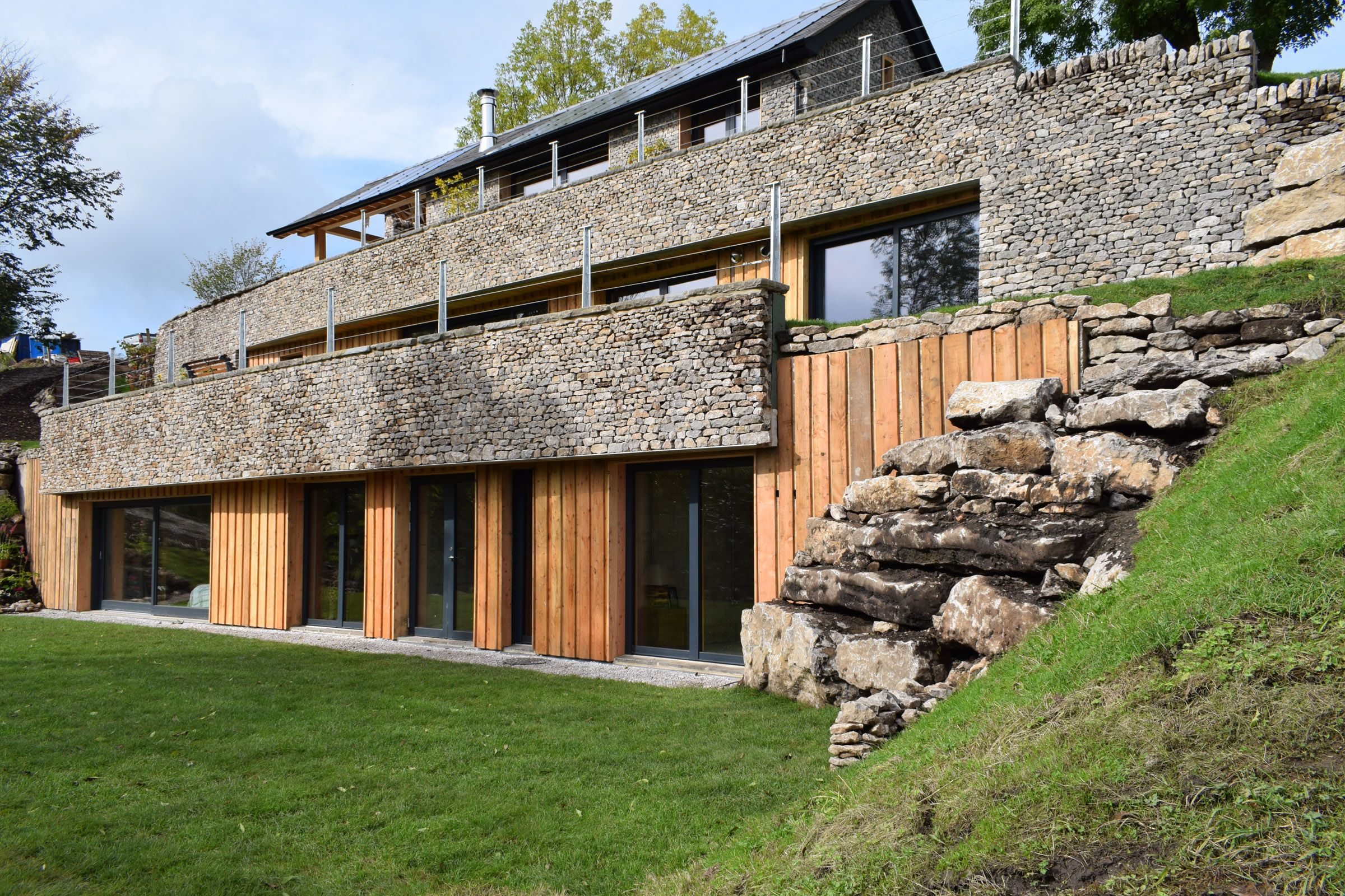 As seen on Grand Designs this project in the Peak District ...