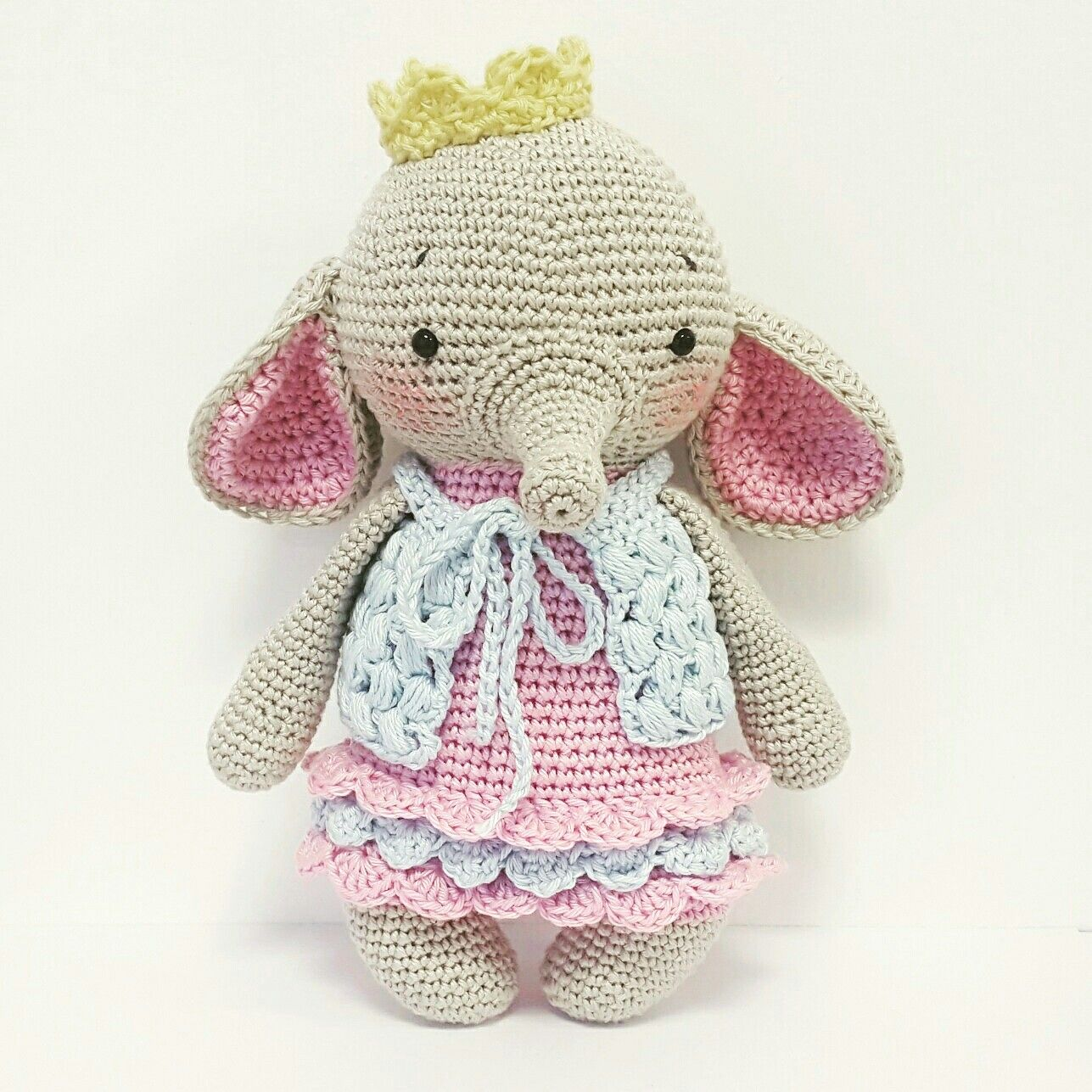 Amaloudesigns Crochet Pattern Little Ava Elephant Amigurumi