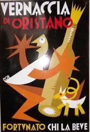 Etichetta della Vernaccia di Oristano-