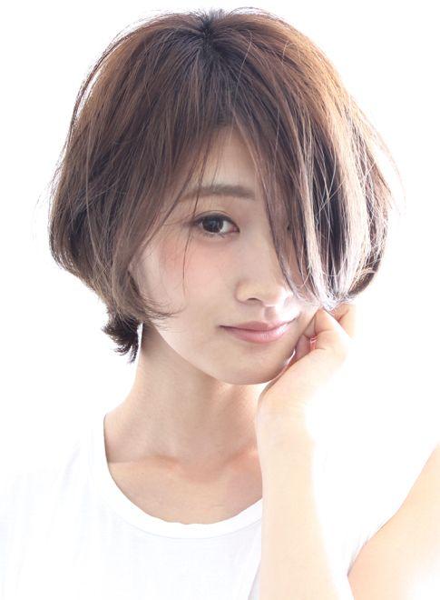【ショートヘア】大人のうざバングショート/BEAUTRIUM 表参道の髪型・ヘアスタイル・ヘアカタログ|2016春夏
