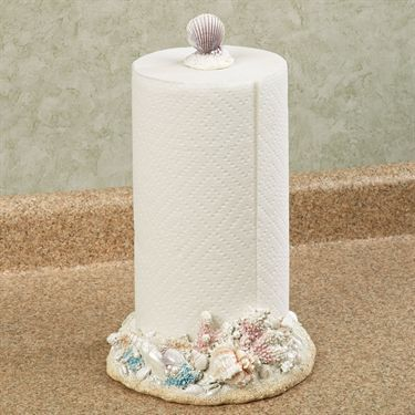 Coastal Paper Towel Holder Prepossessing Pearl Beach Coastal Paper Towel Holder  Love It  Pinterest Review