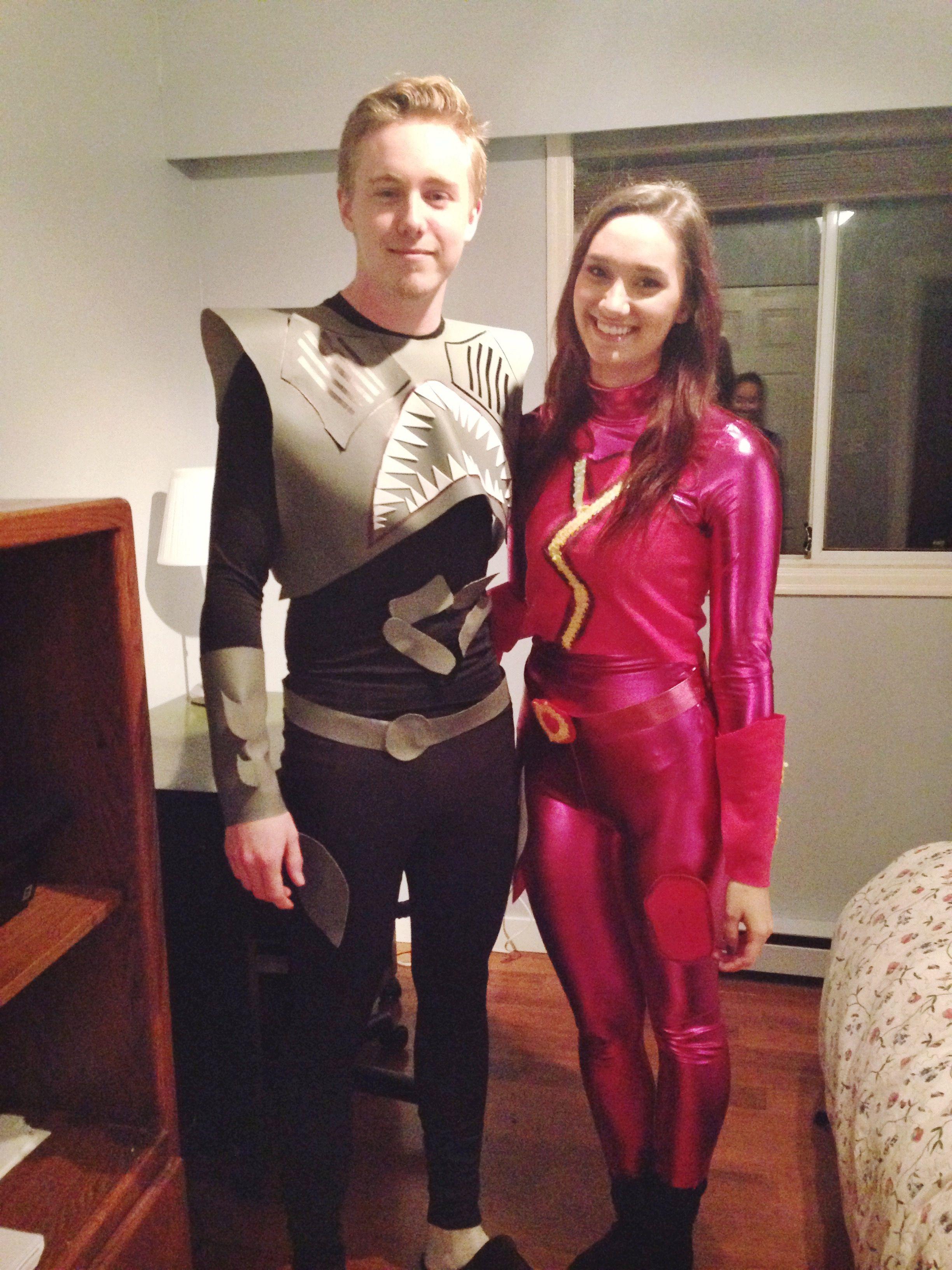 Sharkboy and Lavagirl costume Halloween costume. Couples costume ...