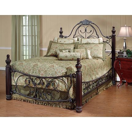 1037BQRBED50 Hillsdale Queen Metal Bed (Top choice out of 3 so far