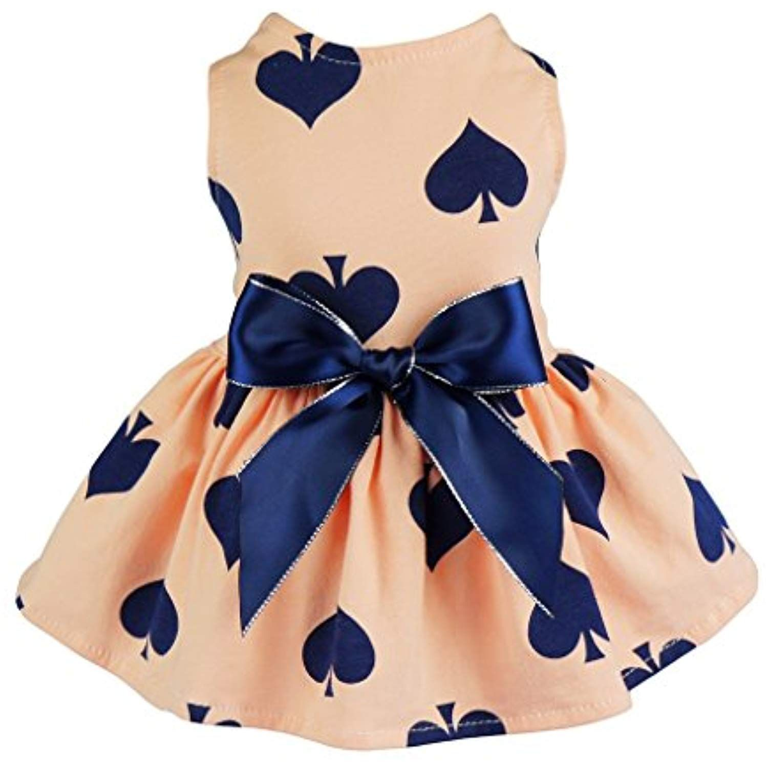 5f040f4b3deb Fitwarm Sweetie Ribbon Pet Clothes Dog Dress Vest Shirts Sundress, Medium  >>> Find out more about the great product at the image link.