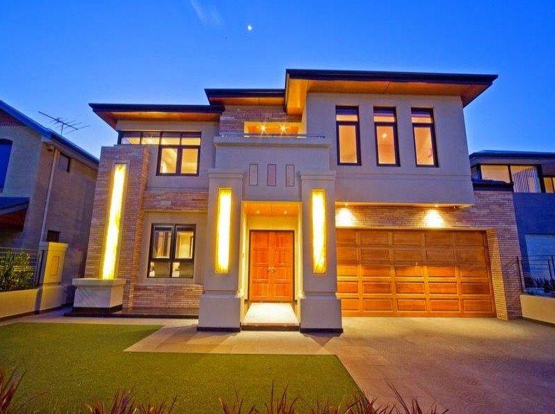 fachadas de casas de dos pisos bonitas fachadas casa