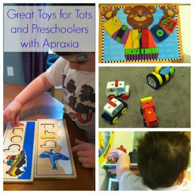 Must Have Toys For Preschoolers With Apraxia Childhood Apraxia
