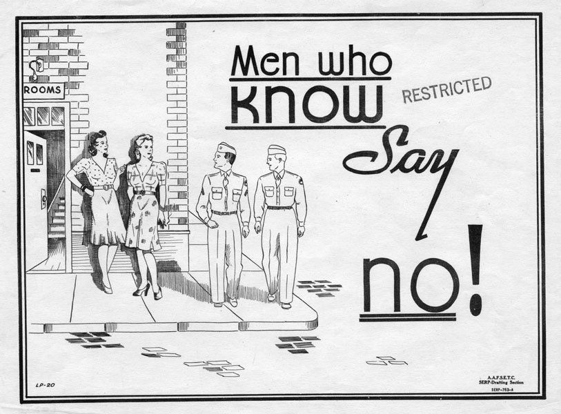 Anti Prostitution Poster