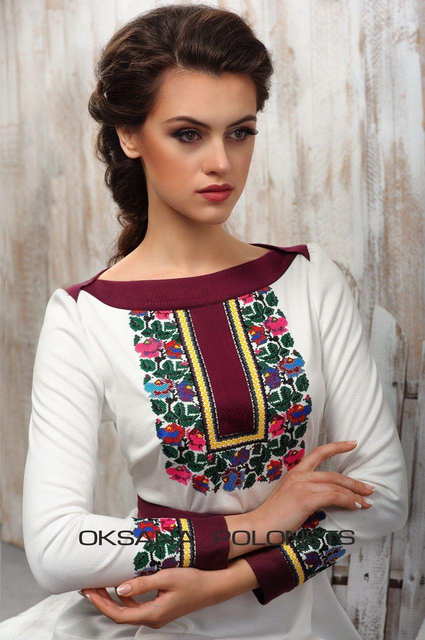 Блуза з борщівською вишивкою  продажа 53d1294ac1e0e