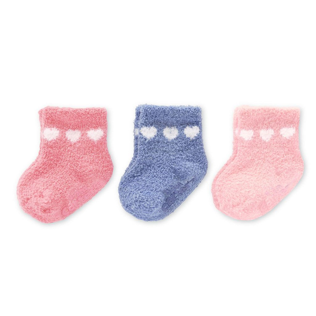 Baby Carter's 3-pk. Socks, Infant Girl's, Size: 0-3 Months, Pink