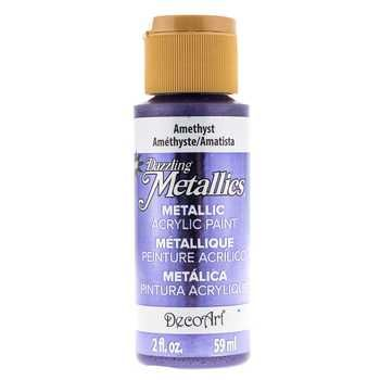 Shimmering Silver Decoart Dazzling Metallics Acrylic Craft Paint