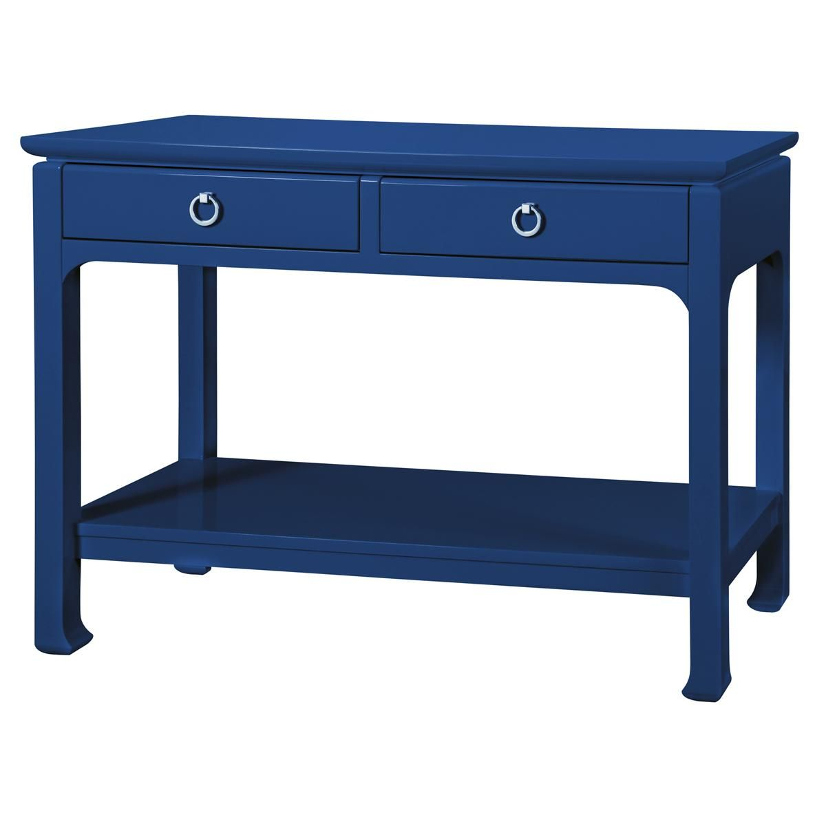 High Gloss Lacquer Console Table Shades Of Light Gray Console Table Blue Furniture Furniture