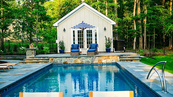 How Much Does An Inground Pool Cost Pool Cost Fiberglass Pools Swimming Pool Cost