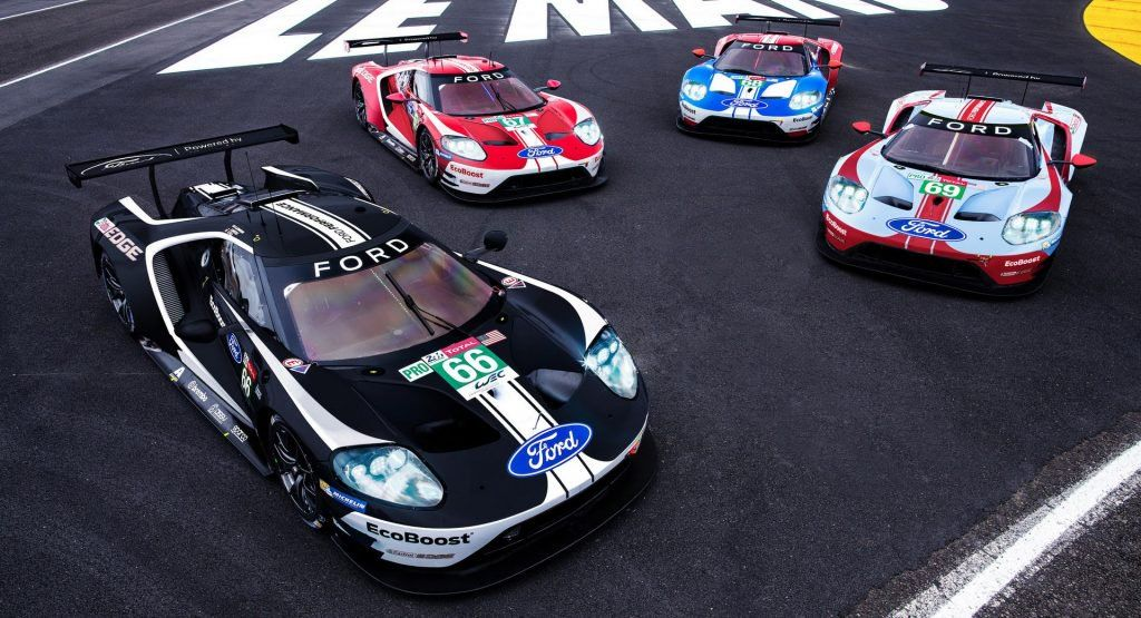 Factory Ford Gts Coming To Le Mans With Celebration Liveries Ford Gt Ford Gt Le Mans Le Mans