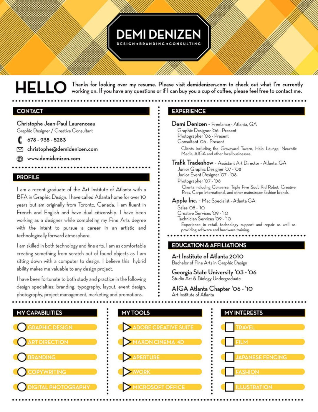 61 Cool Resume Design Ideas Resume ideas