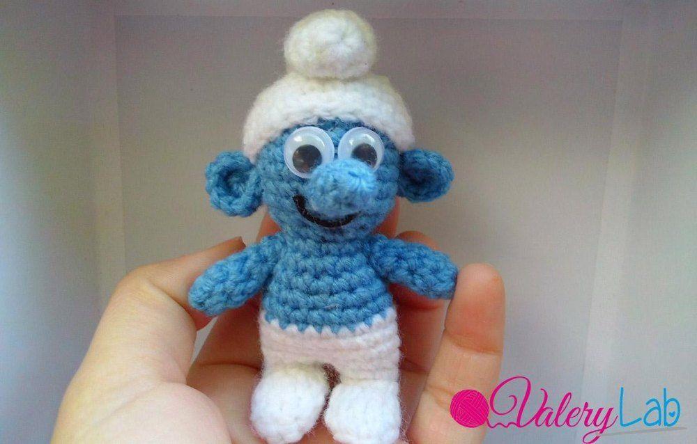 Smurf - Puffo Crochet pattern by Valery Lab | Crochet ...
