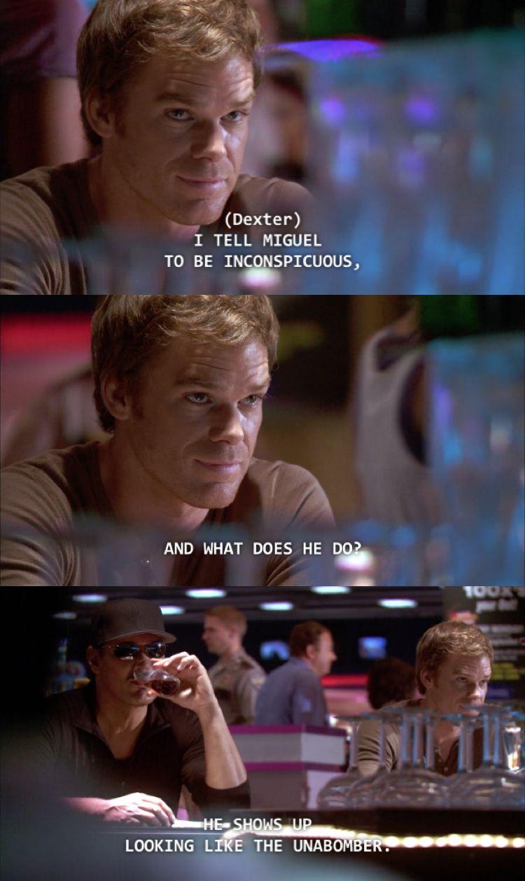Michael C Hall Dexter Morgan Funny Dexter Quotes Dexter Morgan
