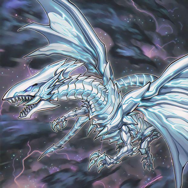 White Lightning Dragon