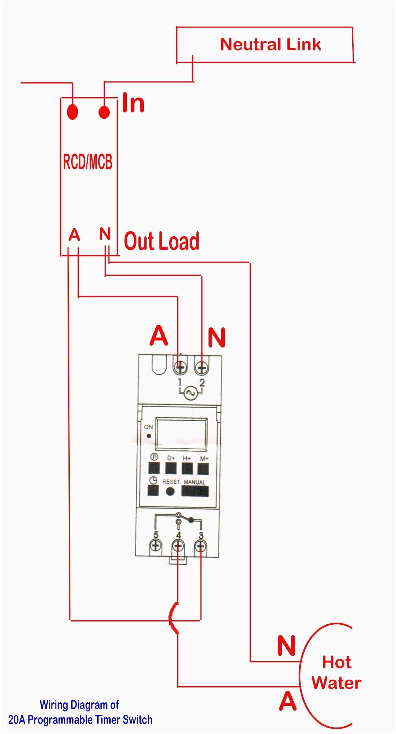 New Wiring Diagram Hager Contactor  Diagramsample