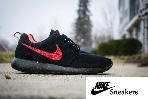 buy online a0ffd c40da Nike Roshe Run Meteorology Custom – Dope Clothing