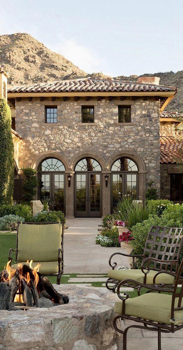 Mediterranen Stil Hauser Interieur Mediterraneanhomes Gartendesignmediterran Homes Inte In 2020 Toskana Haus Italienische Architektur Haus Im Mediterranen Stil