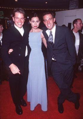 Ben Affleck, Matt Damon and Minnie Driver at event of ...