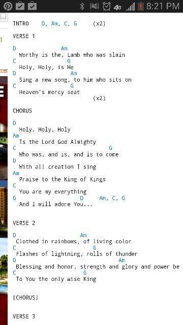 Revelation Song,\
