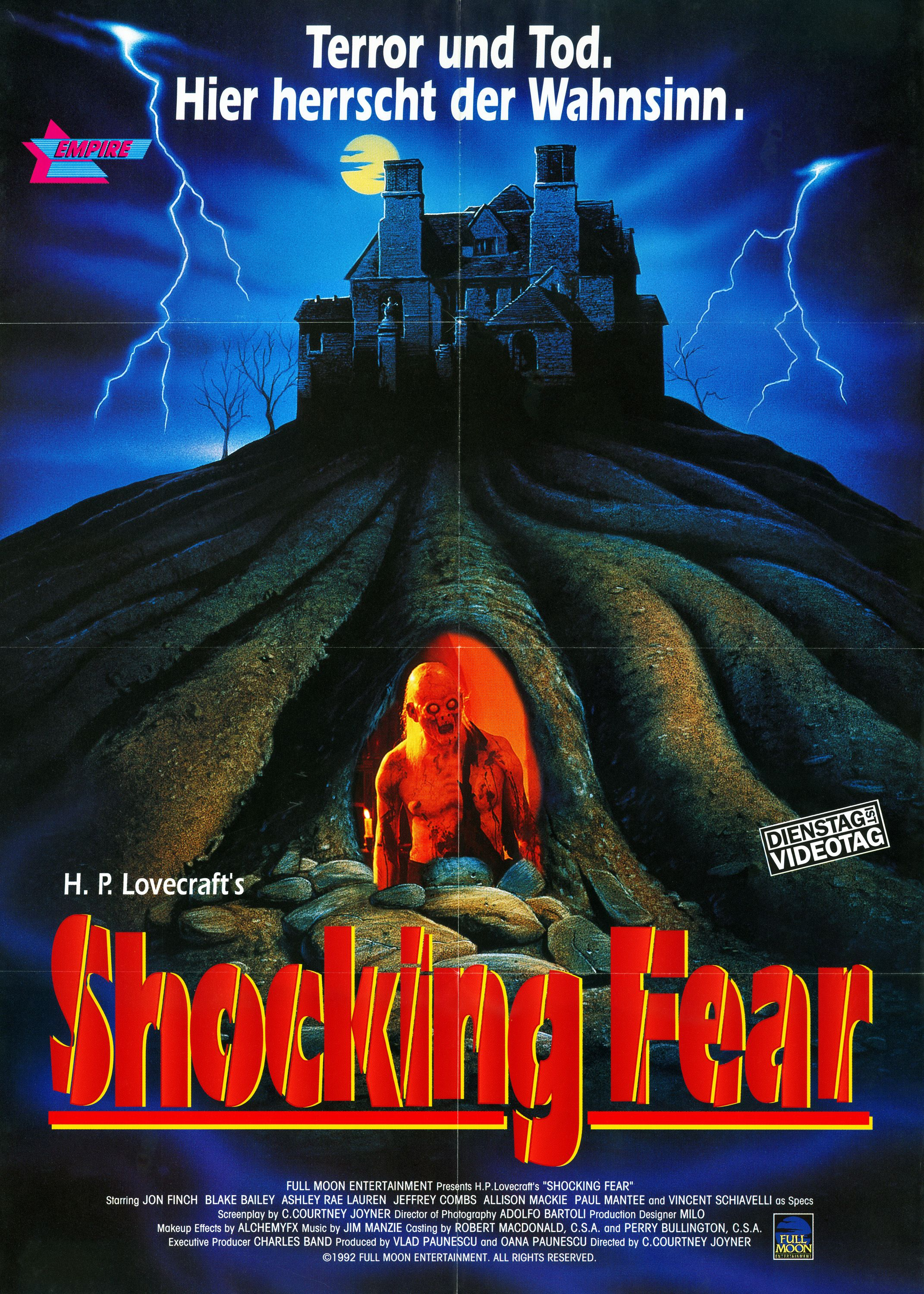 Lurking Fear (1994) Horror movie posters, Poster, Fear