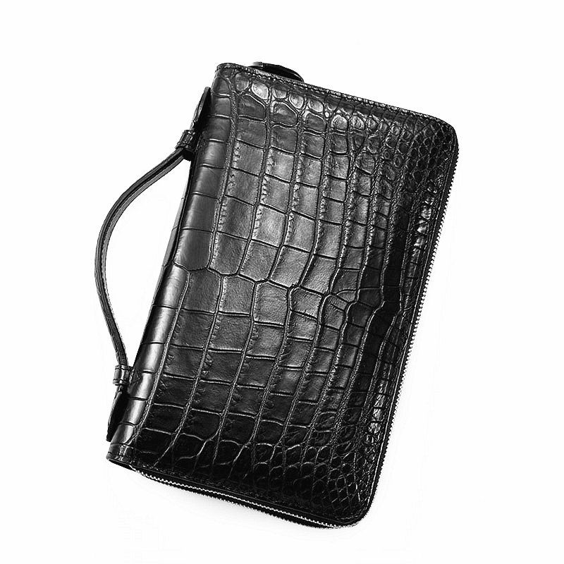 temperament shoes coupon code many styles Men's Alligator Clutch Bag, Large Alligator Wallet | Bags ...