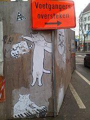 @ Anvers....un peu de chat