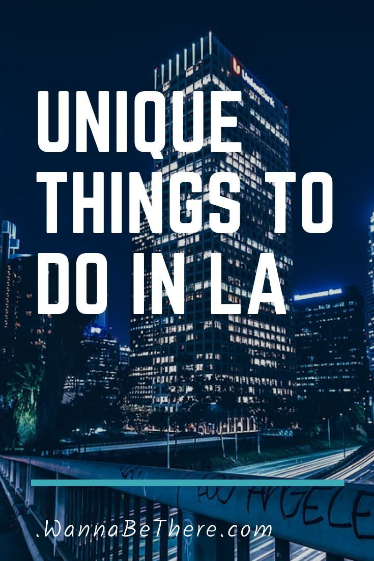 Find out what some of the unique things to do in LA are, including the Griffith Obervatory and the famous Hollywood. Fun things to do at night, and even things for kids to do. #losangeles #california #californiadreamin #wannabethere