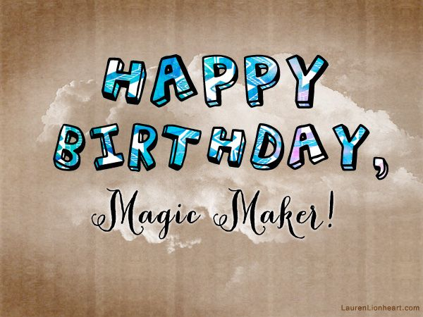 happy birthday maker