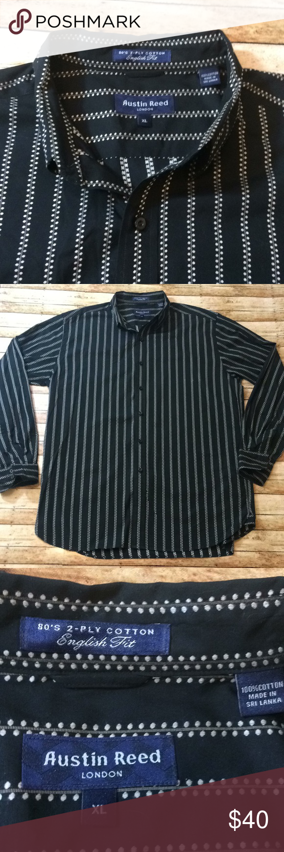 Austin Reed London Button Down Size Xl Great Used Condition Size Xl Austin Reed Shirts Clothes Design Austin Reed Fashion Design