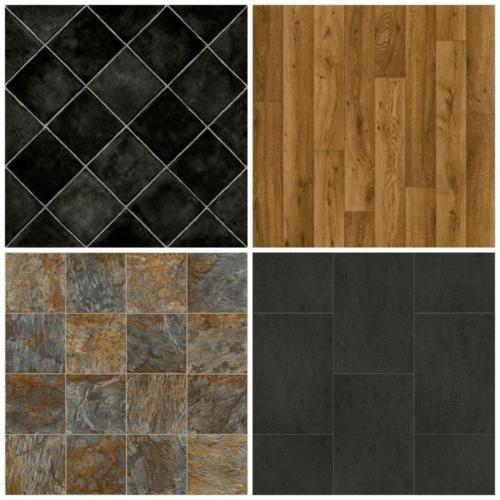 Cheap Vinyl Flooring Brand New Lino 3m Wide Non Slip Free Delivery Wood Tile Wood Tile Vinyl Flooring Vinyl Flooring Uk