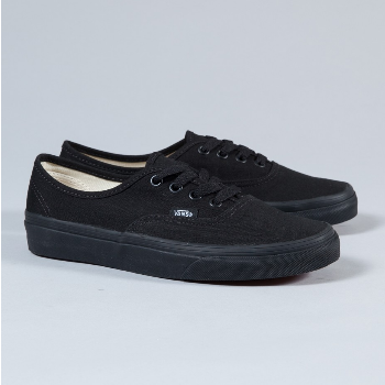 Vans Womens Authentic Trainer Black Daily Updated
