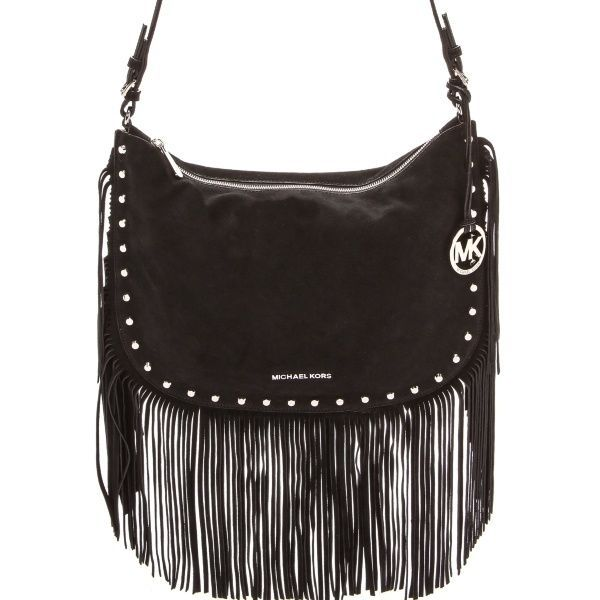 9a9309b7f53c 244a6 8eac8  spain new michael kors billy black suede fringe purse tote shoulder  bag michaelkors shoulderbag aad7c cee6d