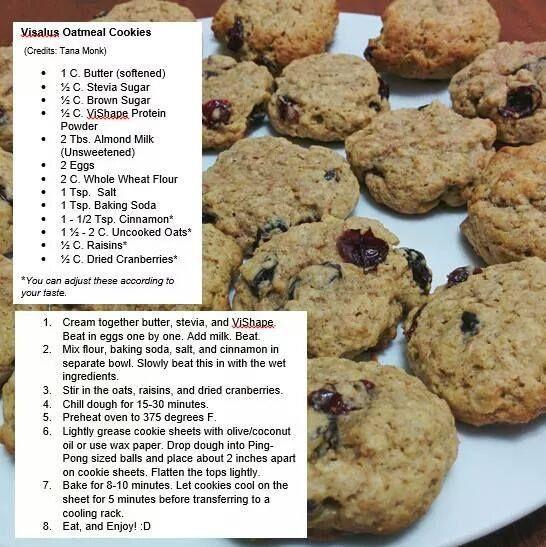 ViSalus Oatmeal Cookies