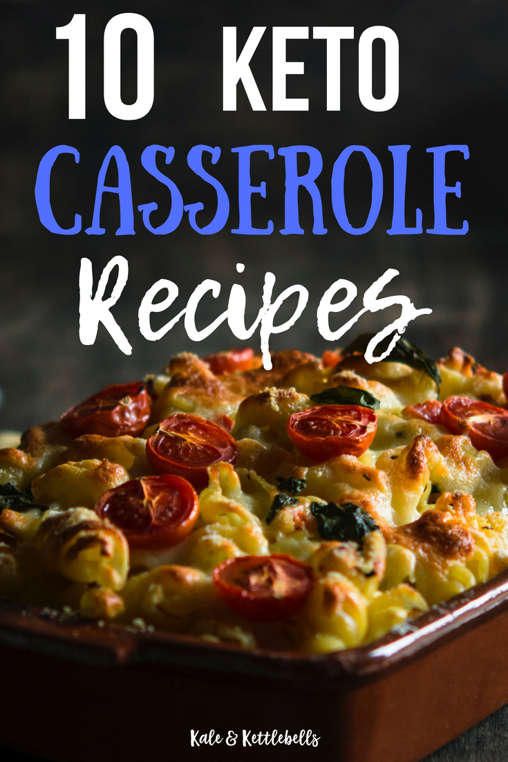 10 Delicious Keto Casserole Recipes for Weight Loss images