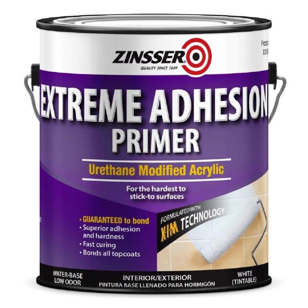 Zinsser 1 Gal Extreme Adhesion Interior Exterior Primer 2 Pack White In 2020 Adhesive Primer Exterior