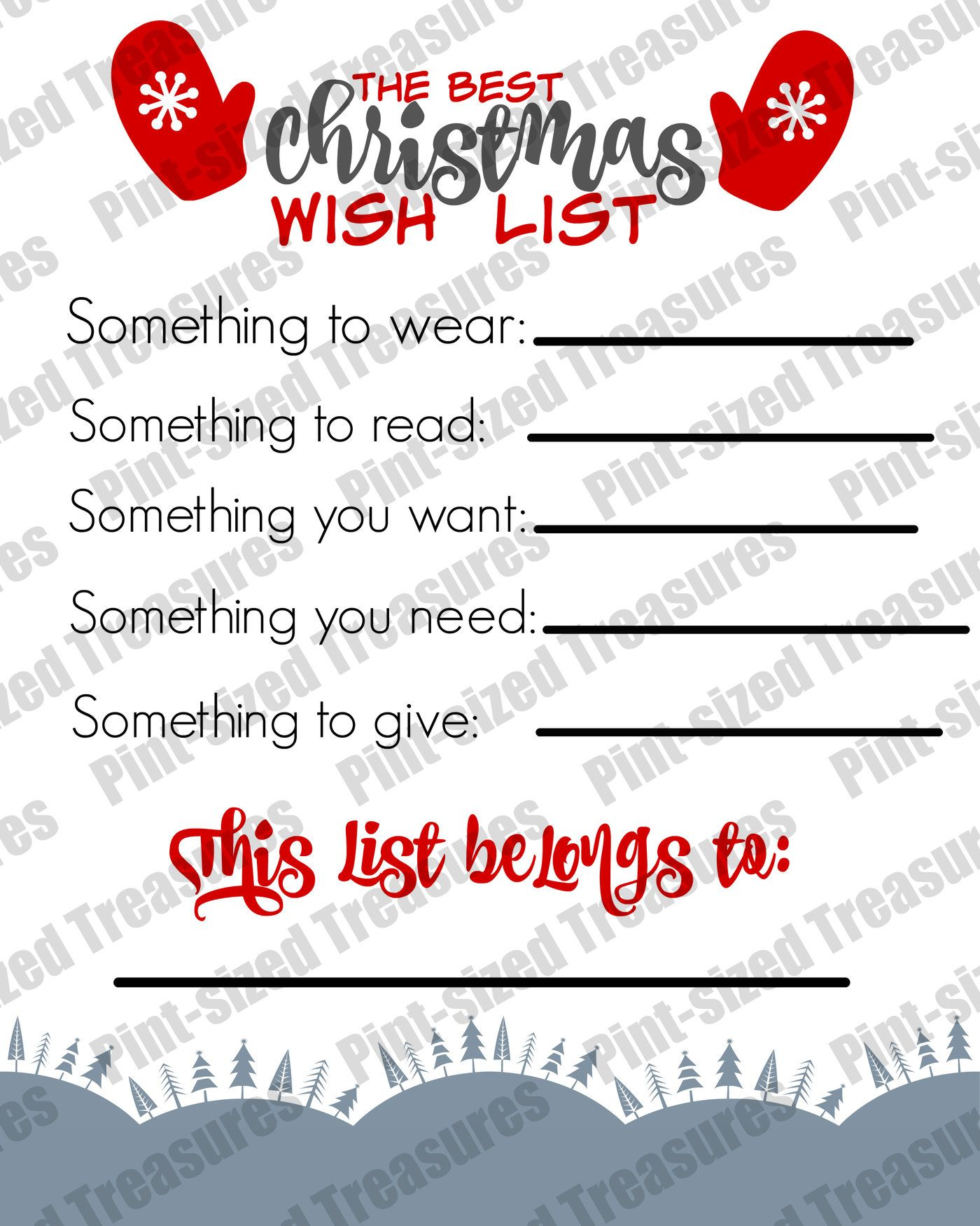 Doc14001750 Christmas Wish Sample 1000 images about new year – Christmas Wish Sample