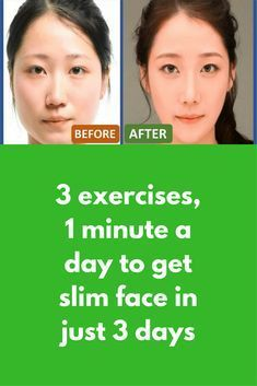 3 Exercises 1 Minute A Day To Get Slim Face In Just 3 Days Exercise 1 Make A O Shape Make A Face As If You Face Exercises Face Yoga Face Slimming Exercises